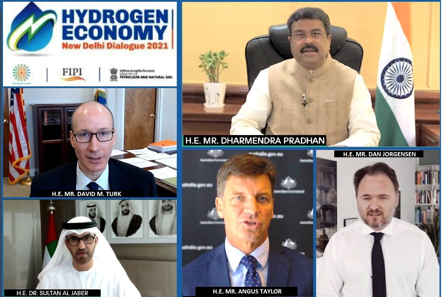 Hydrogen Economy—New Delhi Dialogue 2021